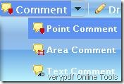 comment on pdf