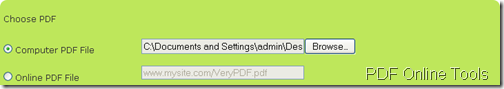 load pdf document to create flipbook