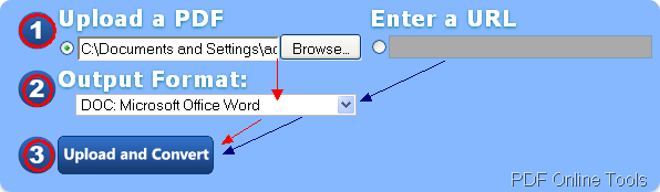 convert pdf url to word online free
