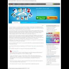 VeryPDF Cloud API Platform: Online Document Converter and Online Document Management Apps