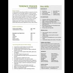 truck driver resume template example
