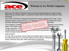 Welcome to Ace World Companies