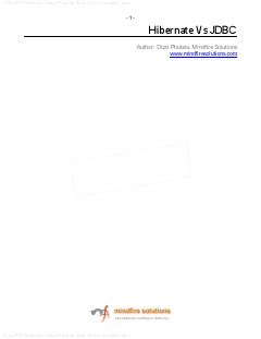 Microsoft Word – Hibernate_JDBC.doc