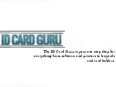 ID Card Guru | ID Card Software, Printers and Accessories