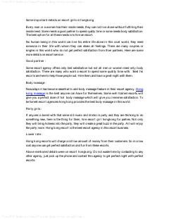 Microsoft Word – Some important details on escort girls in hongkong
