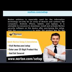 www.norton.com/setup | Norton Setup Activation With Product Key